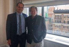 Eduardo Bolsonaro disse que se reuniria com vice-presidente dos EUA, mas Casa Branca negou