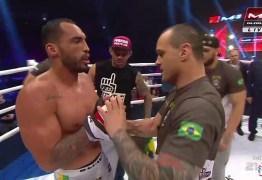 Cajazeirense Bruno Silva vence luta e é o atual campeão de Peso Médio de MMA: VEJA VÍDEOS
