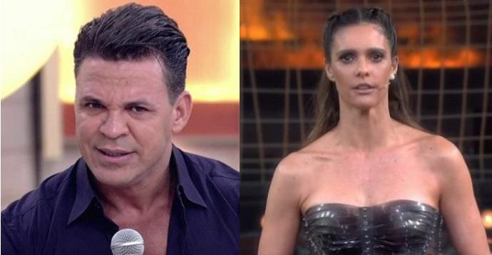 'Imbecil, sua mamata vai acabar!': Eduardo Costa ameaça Fernanda Lima e propõe boicote à TV Globo