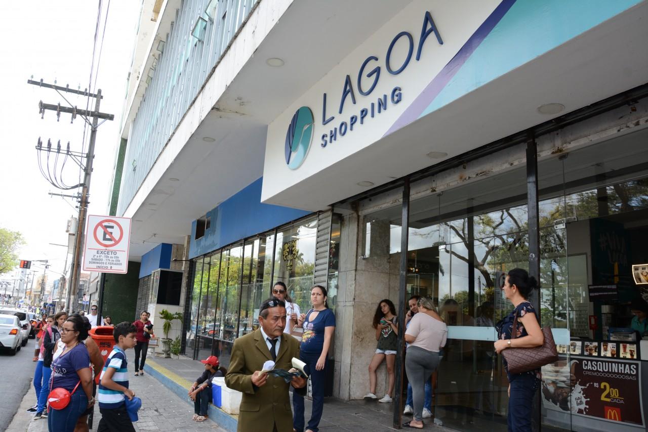AL Shopping Lagoa fechara em breve ASL 0414 48 - TJPB determina bloqueio de contas ligadas ao Lagoa Shopping para pagar dívidas e manter funcionamento das lojas