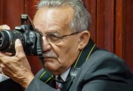 Parada cardíaca causa a morte do fotógrafo Arnóbio Souza