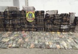 Polícia Federal apreende 5 toneladas e meia de cocaína no nordeste: VEJA VÍDEO