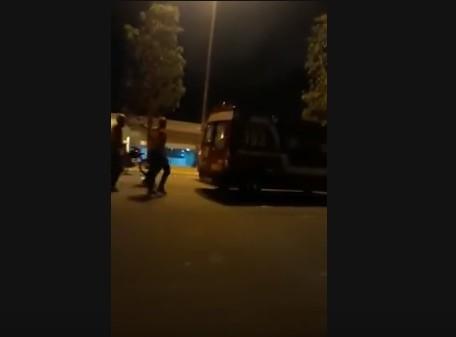 Capturar 64 - VEJA VÍDEO: Viatura do Corpo de Bombeiros apresenta problema e é empurrada na Romaria da Penha