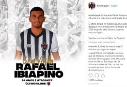 Anunciado pelo Serrano-PB, atacante Rafael Ibiapino acerta com o Belo para 2019