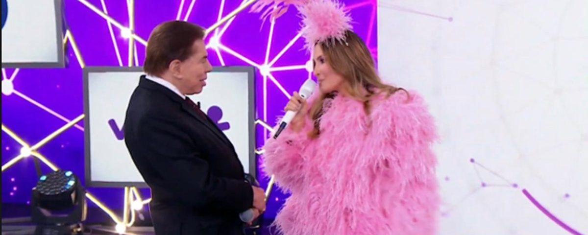 Silvio Santos deixa Claudia Leitte sem graça e causa polêmica no Teleton