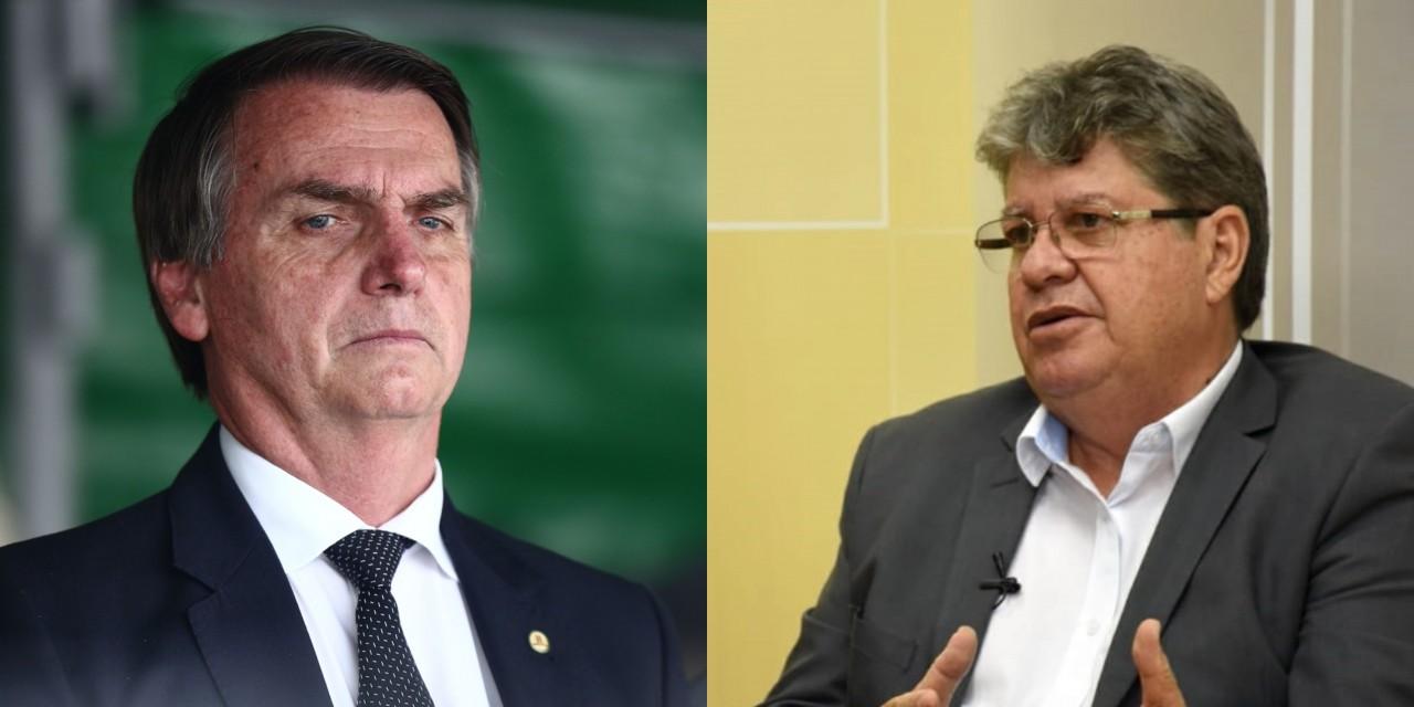 bolsonaro joão - João Azevêdo foi convidado para reunião com Bolsonaro na próxima semana