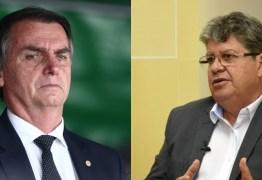 João Azevêdo foi convidado para reunião com Bolsonaro na próxima semana