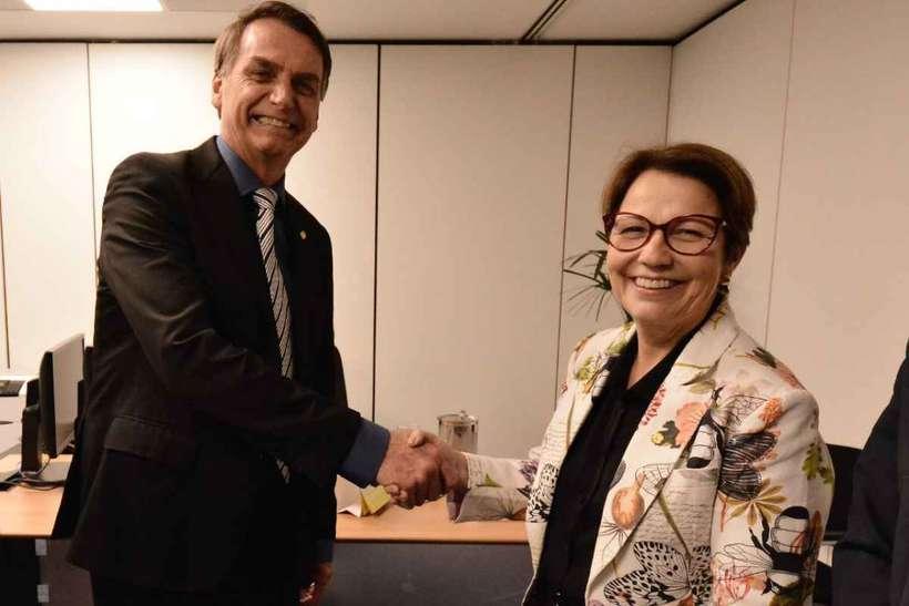 bolsonaro tereza cristina - 'DEVO RENUNCIAR MEU MANDATO?': questiona Bolsonaro ao afirmar que é réu em processo que tramita no STF