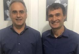 Lucélio volta a Campina Grande e se reúne com prefeito Romero Rodrigues: 'Feliz em reencontrar o amigo e prefeito'