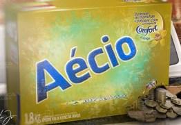 A IRONIA ESTAVA PRONTA: Dinheiro sujo de Aécio vinha dentro de caixa de sabão em pó