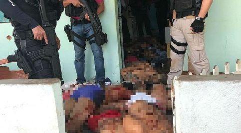 onze mortos 300x166 - Onze suspeitos de assalto a banco morrem em ação policial no Sertão de Alagoas
