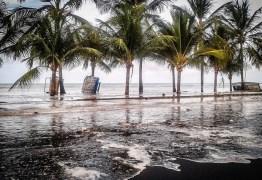 OLHA A ONDA: Marinha alerta banhistas para mar agitado nos próximos dias