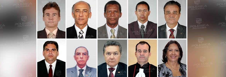 tjpb - Dez desembargadores se inscreveram para o cargo de presidente do Tribunal de Justiça da Paraíba