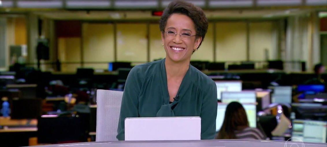 Zileide Silva se enrola durante Jornal Hoje e acaba dando notícia antes da hora