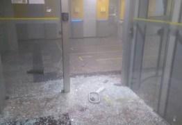 Quadrilha invade banco e viola caixa eletrônico com maçarico no Centro de João Pessoa