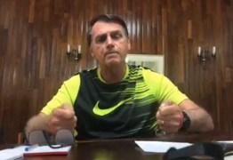 Presidente eleito Jair Bolsonaro faz live ao vivo no Facebook; acompanhe