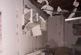 AÇÃO CRIMINOSA: bandidos explodem caixa eletrônico do Bradesco na região de Uiraúna