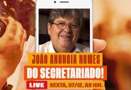 João Azevedo divulga nomes do novo secretariado na sexta feira: Polêmica Paraíba especula quem são os possíveis indicados