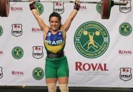 Mayara Rocha é Tetracampeã no Paraibano de Levantamento de Peso