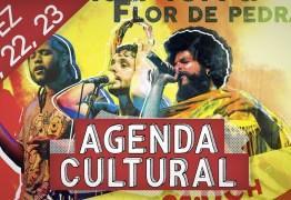 AGENDA CULTURAL: Confira os eventos que movimentam o fim de semana em João Pessoa