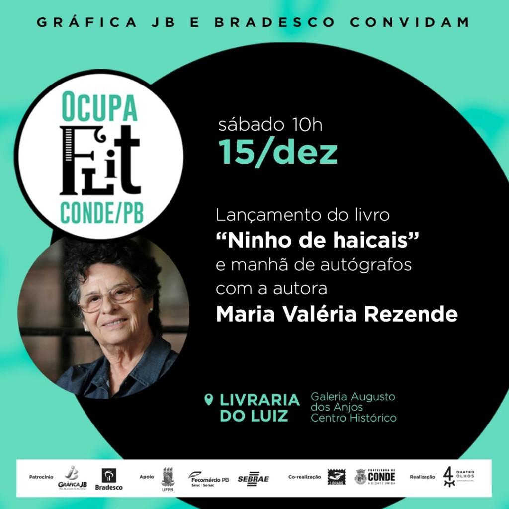 Mostra Ocupa Flit 2 - Mostra Ocupa Flit Conde acontece no sábado com lançamento do livro de Maria Valéria Rezende