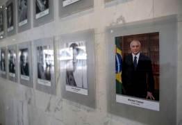 No fim do mandato, Temer ganha foto em galeria dos presidentes