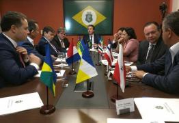 BUSCANDO MELHORIAS: João Azevedo representa a Paraíba em reunião com governadores do Norte e Nordeste
