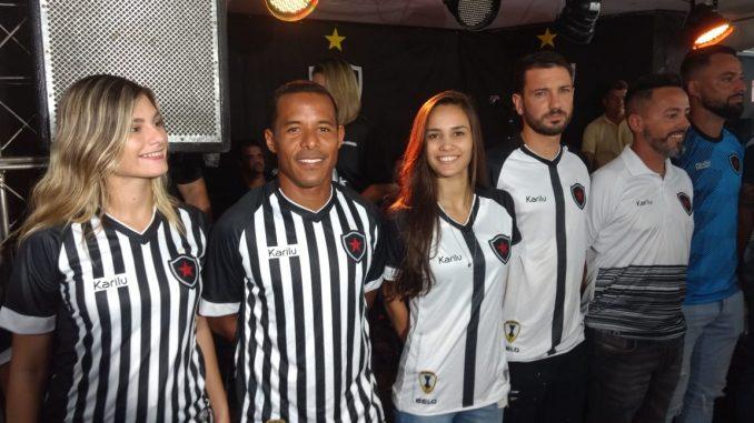 Botafogo-PB apresenta elenco e novo uniforme na capital - Polêmica ... 0fb71ff5b9f68