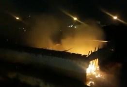 Incêndio atinge depósito da Justiça Federal, em João Pessoa – VEJA VÍDEO