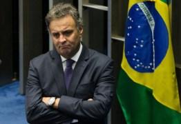 STF determina bloqueio de R$ 1,6 milhão em bens de Aécio Neves