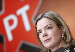 """Gleisi: """"O PT não vai participar de um processo com o PSL"""