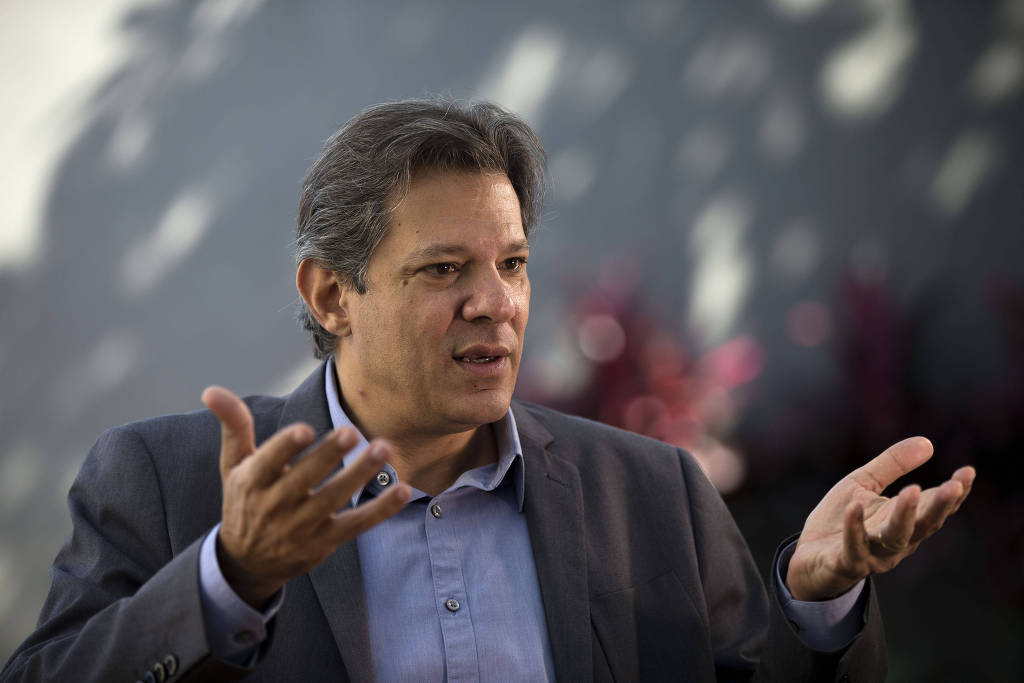 haddad ny - 'CCJ votou Previdência às escuras', diz Haddad sobre sigilo de dados