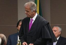 José Múcio Monteiro agradece a Lula ao tomar posse como presidente da TCU