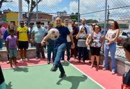 Prefeito entrega nova praça na Comunidade do Citex e oferece espaço de convivência para moradores