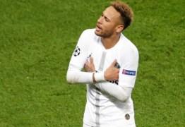 INSULTOS: Neymar é suspenso por três jogos da Champions