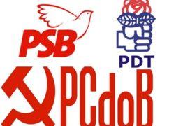 PDT, PCdoB e PSB confirmam bloco de oposição a Bolsonaro sem incluir o PT