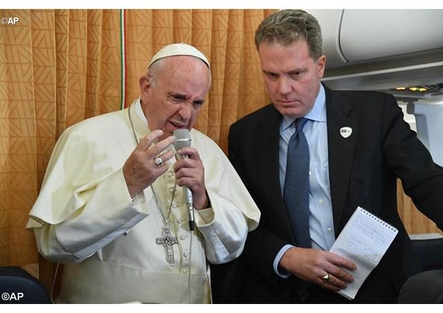 papa francisco - Porta-voz oficial do Vaticano, Greg Burke, pede demissão nesta segunda-feira