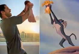 VEJA VÍDEO: Duda Nagle 'recria' cena clássica de animação com a filha, Zoe