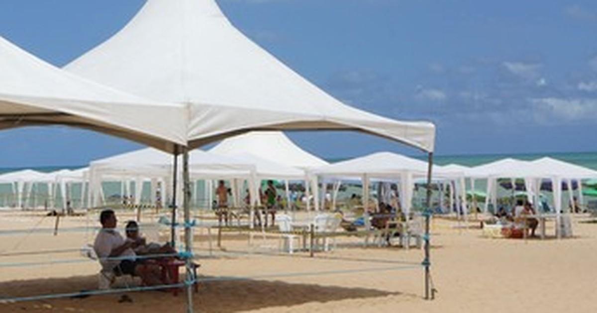tendas joao pessoa 1 - Cadastro para instalação de tendas na orla de João Pessoa para o réveillon começa nesta segunda-feira
