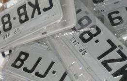 Detran-PB estipula novo prazo para implantação de placas com padrão Mercosul