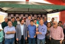 Aguinaldo e Enivaldo acompanham o ministro Alexandre Baldy em visita a Campina Grande – VEJA FOTOS