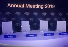 CADEIRAS VAZIAS: Bolsonaro e ministros cancelam pronunciamento em Davos