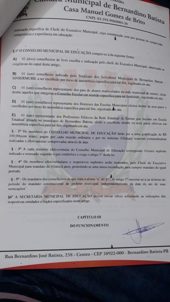 22012019083142 lei2 - Prefeito Gervásio Gomes deve pagar acima do mínimo nacional e 14º salário aos professores