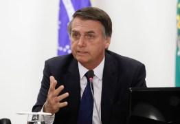 Bolsonaro comenta estado de saúde, 'Cada dia melhor'