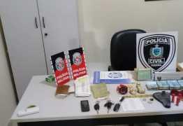 Três homens são presos e cerca de R$ 40 mil foram apreendidos pela Polícia Civil e Militar no Sertão