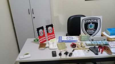 54efeebf 0736 46f6 a209 b857856a6480 300x169 - Três homens são presos e cerca de R$ 40 mil foram apreendidos pela Polícia Civil e Militar no Sertão