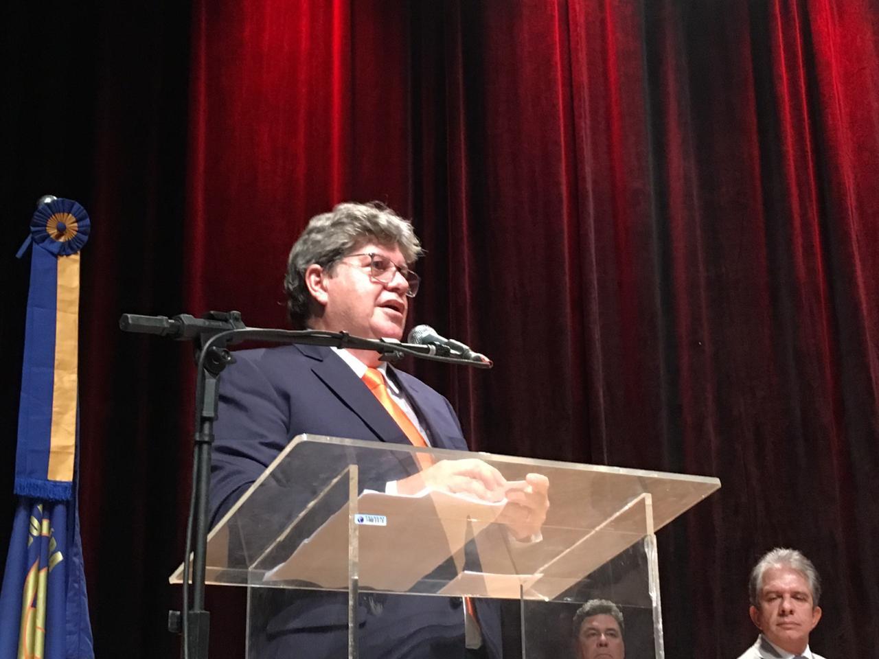 5bceeaac 67ad 4f84 ab49 b3068490ce4f 1 - O POVO NO PODER: 'Os interesses dos paraibanos continuarão acima durante a gestão', diz João Azevedo durante discurso de posse