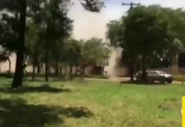 Record exibe com exclusividade imagens do momento em que barragem se rompe em Brumadinho; VEJA VÍDEO