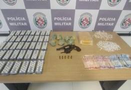 Polícia apreende 3.000 comprimidos do 'boa noite cinderela', em João Pessoa