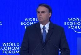 Em Davos, Bolsonaro diz que quer compatibilizar preservação ambiental com avanço econômico – VEJA VÍDEO